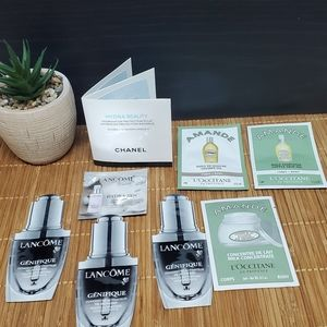 NEW 9 piece sample lot high end skincare